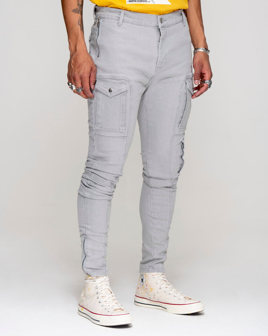 Kago Jeans Grey Ice