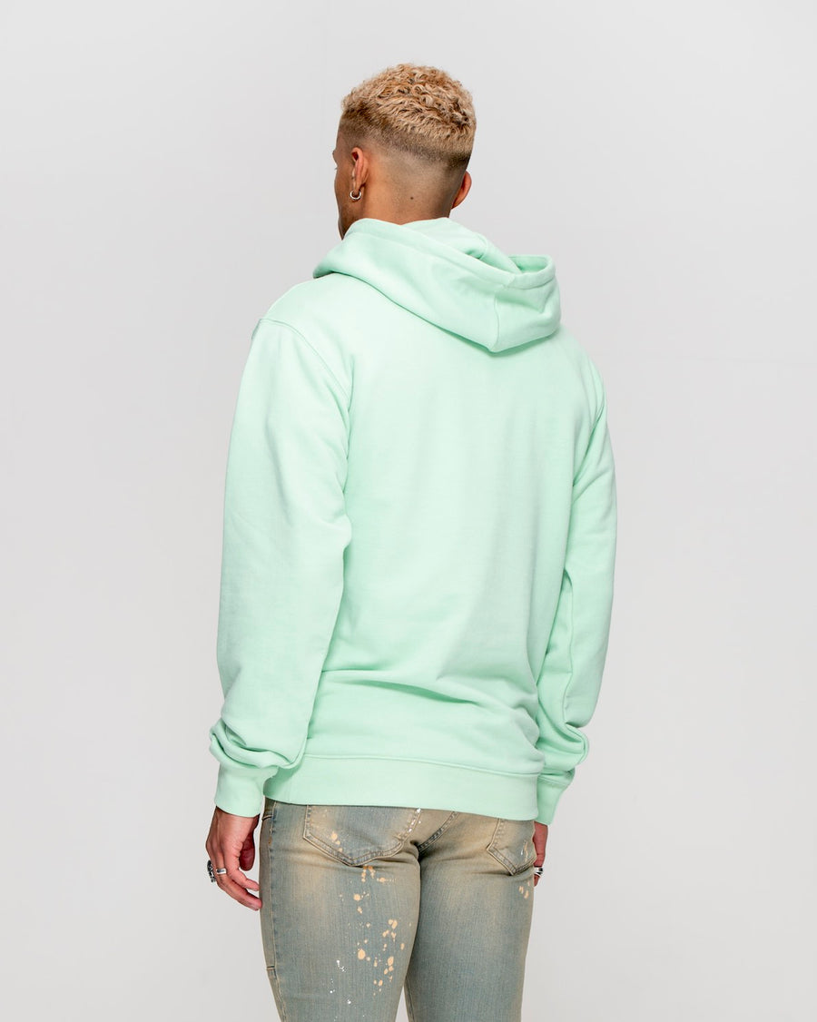 Cobra Hoodie Pastel Green - Mens Graphic Hoodies