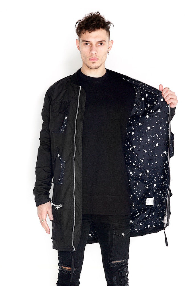 Valka Long Jacket Splatter