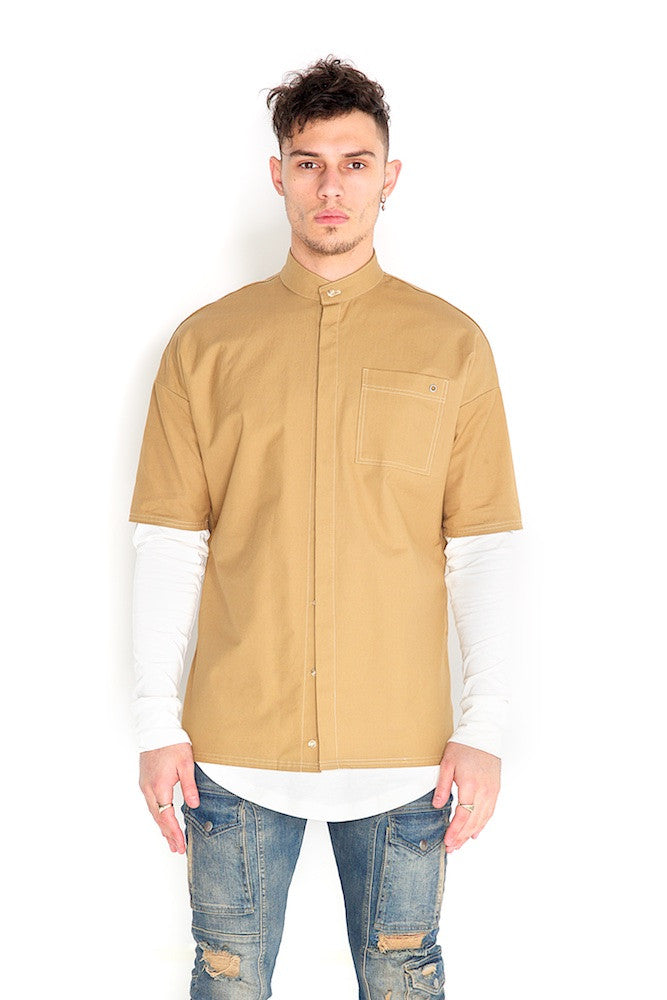 Odin Two Piece Shirt Sand