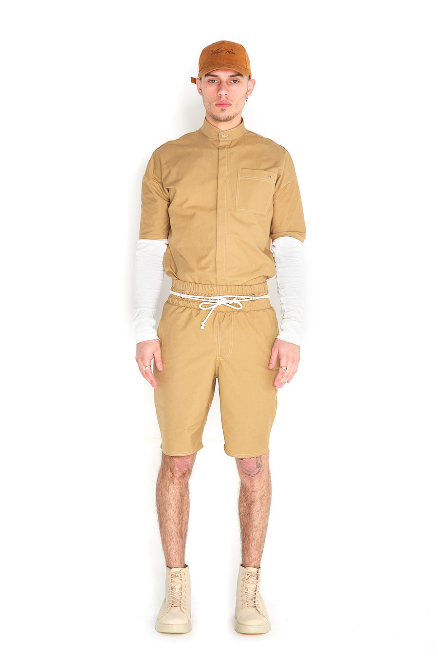 Odin Two Piece Shorts Sand