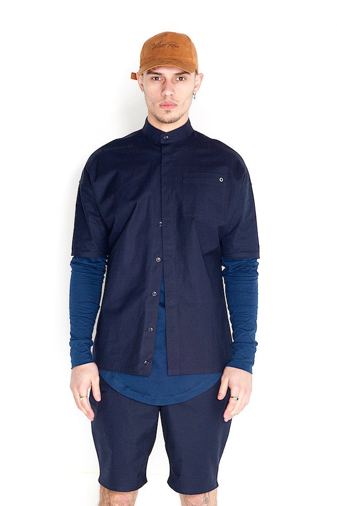 Odin Two Piece Shirt Royal Blue