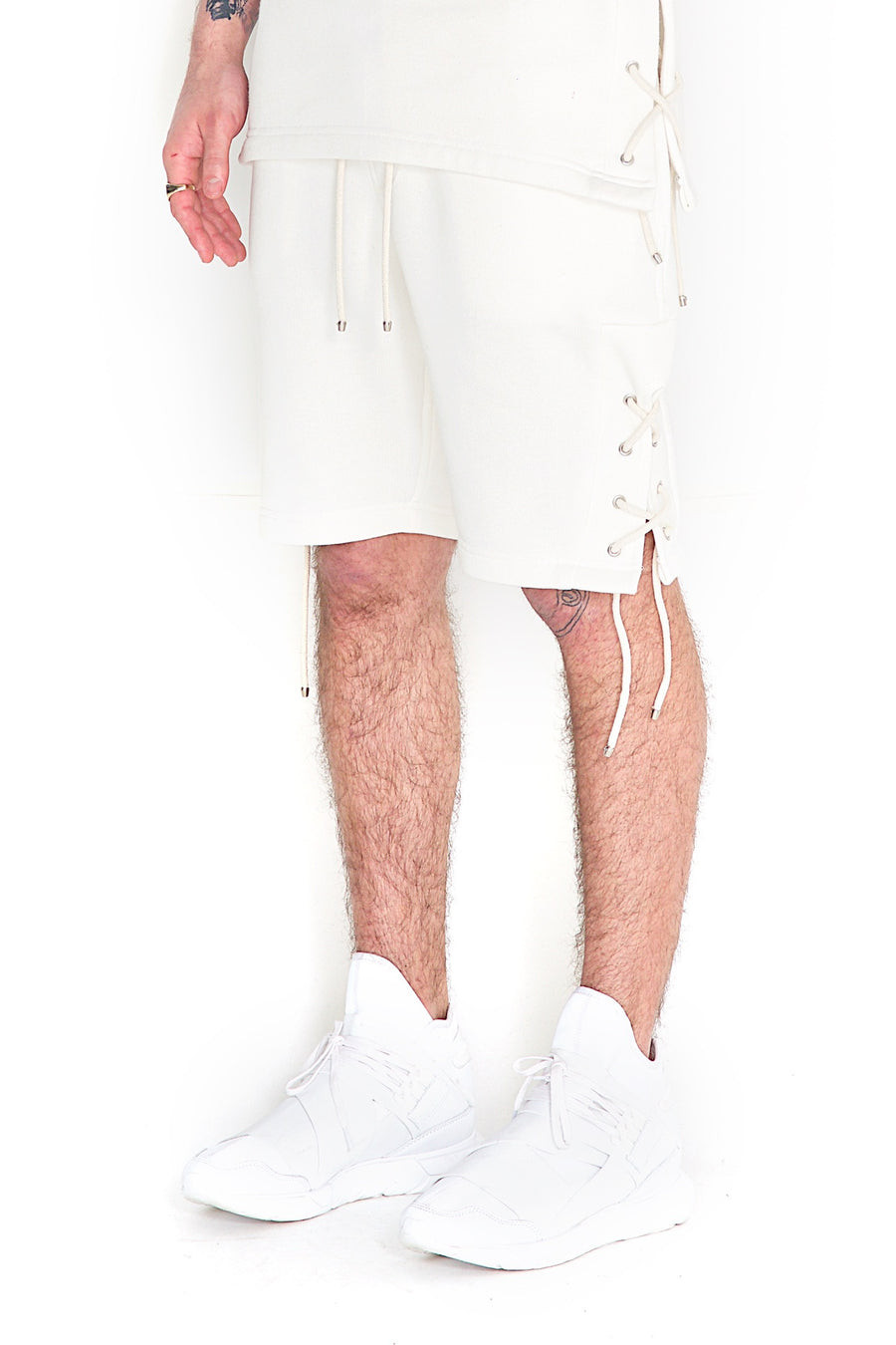 Raido Shorts White