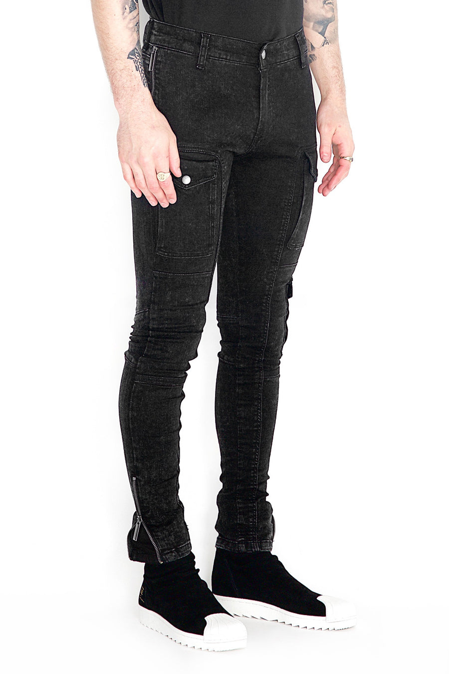 Kago Jeans Black Ice