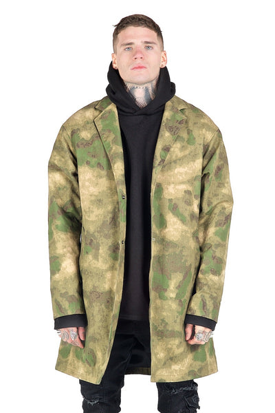 Morph Long Jacket Camo