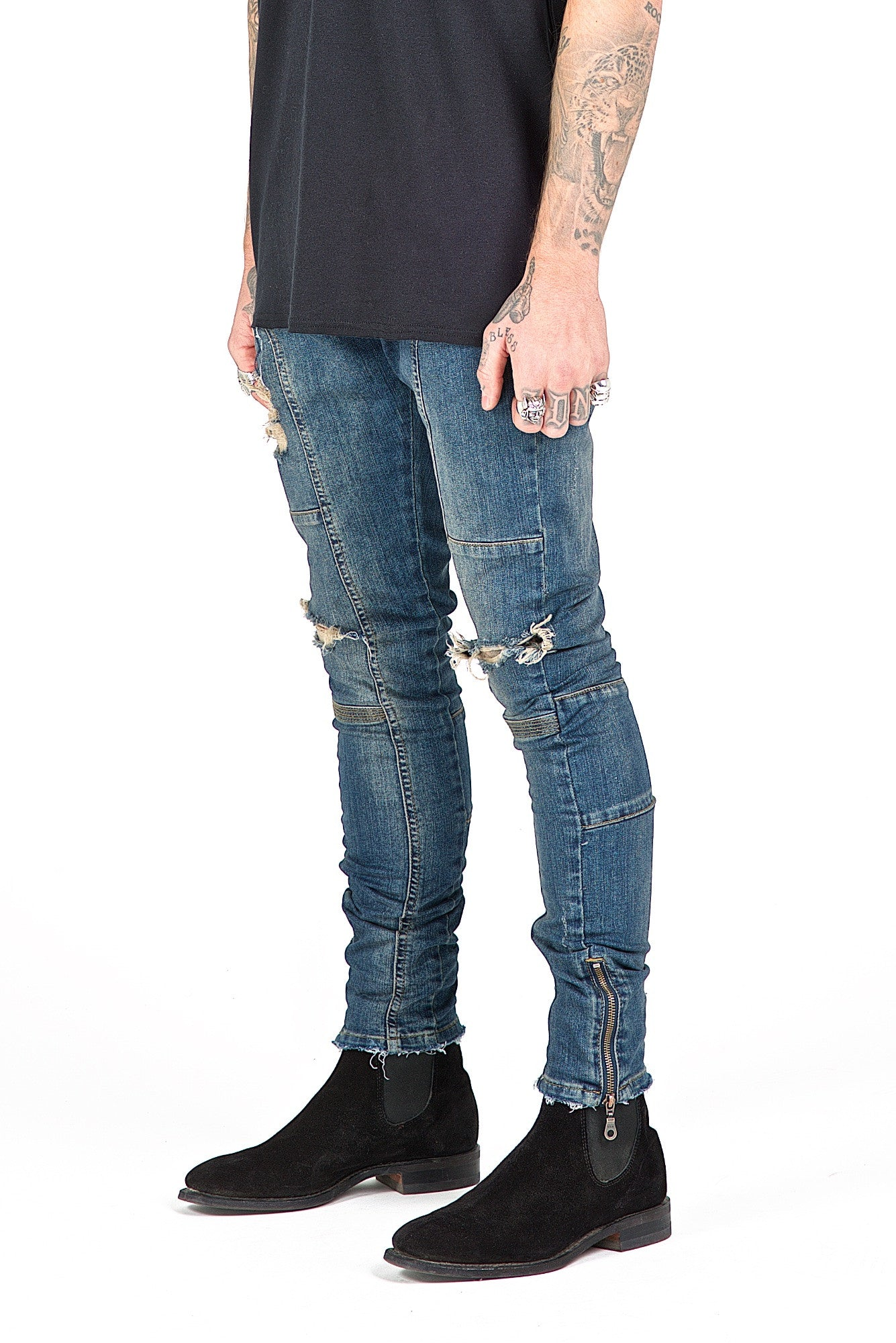 Essential Sand Kago Jeans