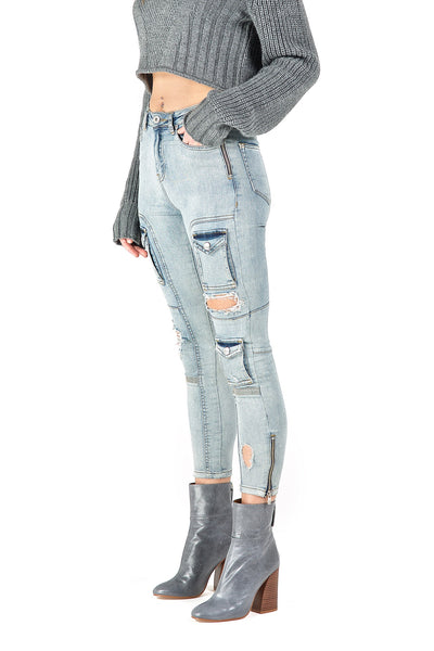 Womens Kago Jeans Blue