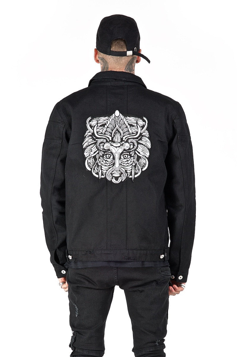 Odyss Denim Jacket Black