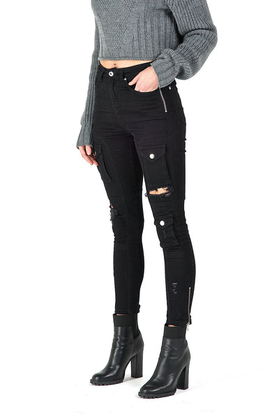 Womens Kago Jeans Black