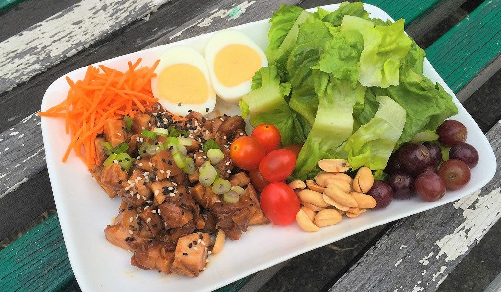 Meat Lover Teriyaki Chicken Salad