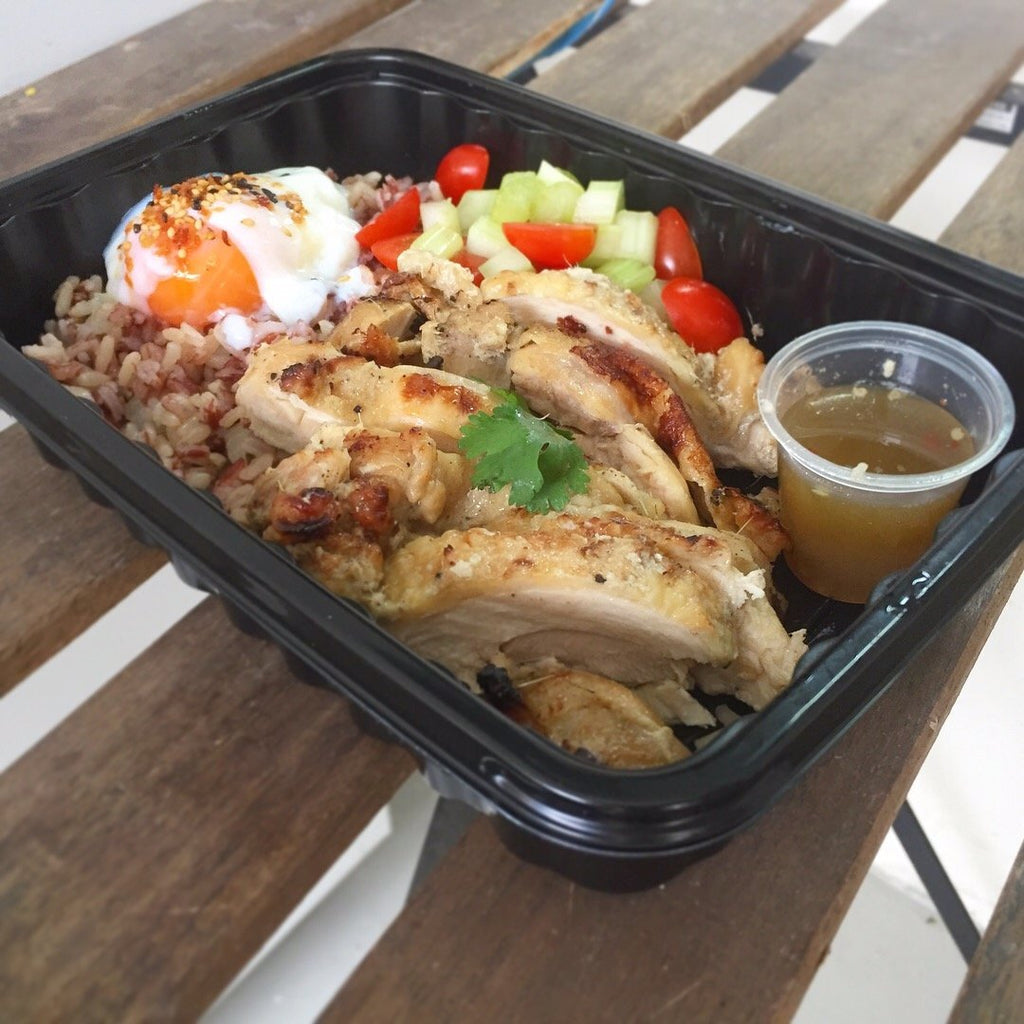 Thai Lemongrass Chicken Bento
