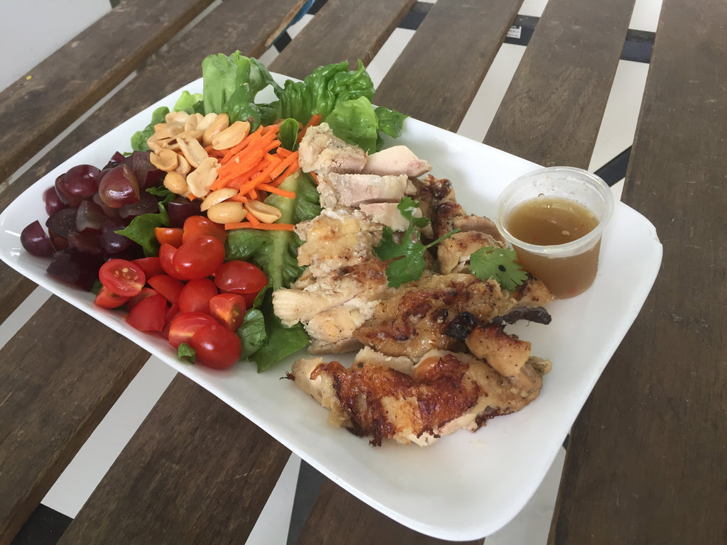 Meat Lover Thai Lemongrass Chicken Salad