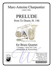 Prelude from Te Deum (Brass Quartet)