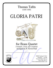 Gloria Patri (Brass Quartet)