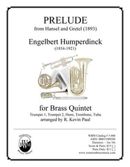 Prelude from Hansel And Gretel (Brass Quintet)