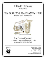 The Girl With The Flaxen Hair (Brass Quintet)