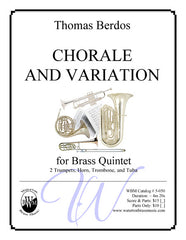 Chorale And Variation (Brass Quintet)