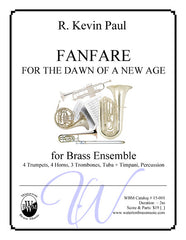 Fanfare For The Dawn Of A New Age (Large Brass Ensemble)