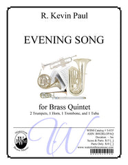Evening Song (Brass Quintet)
