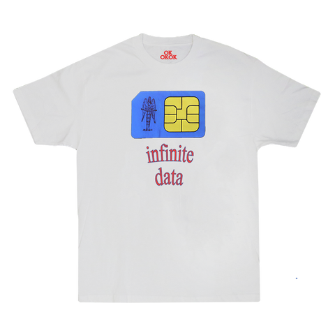 X INFINITE DATA SS TEE