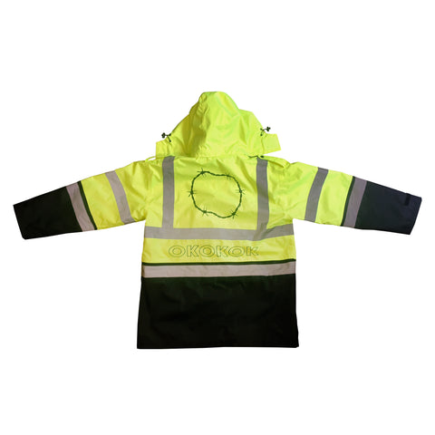 Safety Hooded Coat (per order)