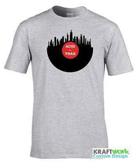 ACID TRAX Records Vinyl Skyline T-Shirt Chicago House New York London ACIDHOUSE