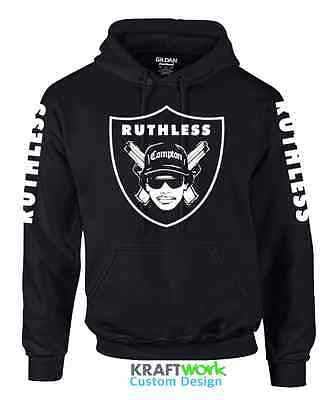 EAZY E Ruthless Records Hoodie 90's Classic Retro  - NWA Straight outa Compton