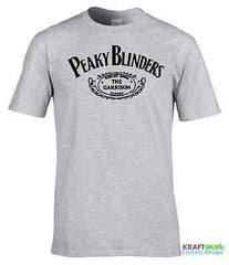 PEAKY BLINDERS T SHIRT The Shelby Bros Brothers  Birmingham MENS T-SHIRT