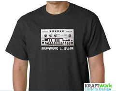 Roland TB-303 TB303 Bassline T-Shirt Unique Design Music Producer / Classic Acid