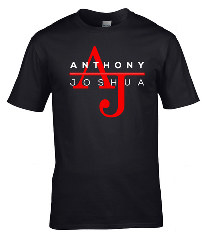 AJ ANTHONY JOSHUA T-SHIRT HEAVYWEIGHT CHAMP  BOXING GYM Limited Edition TEE GIFT