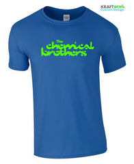The CHEMICAL BROTHERS T-Shirt FESTIVAL GIG T-SHIRT Push The Button TOP RAVE 90s