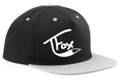 TFOX SNAP BACK Adjustable CAP Hat Tanner Fox SCOOTER YOUTUBER Skater You Tube
