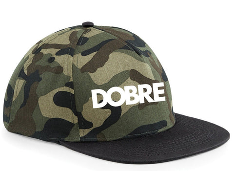 DOBRE Brothers SNAPBACK CAP Youtuber Marcus Lucas CAMO - FREE TRACKED Ali-A Tfox