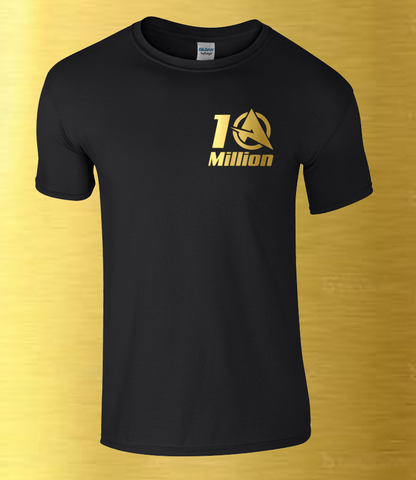Ali-A 10 MILLION T-shirt Ali A COD Call of Duty Fortnight GOLD Youtube Youtuber