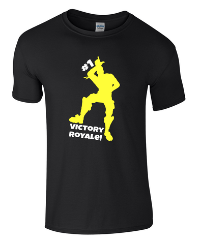 FORTNITE VICTORY ROYALE BATTLE #1 Gaming T-SHIRT PS4 XBOX GAMERS Youtuber Ali-A