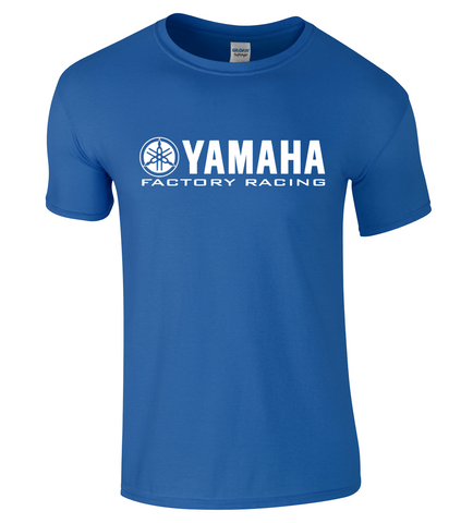 Yamaha Factory Racing Logo T Shirt TOP - GP Motorcycle Motorbike Biker VR46 YZR