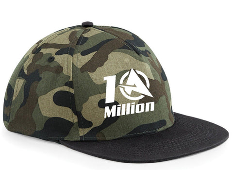 ALI-A 10 MILLION youtuber SNAPBACK CAP  Adjustable  FREE TRACKED SHIPPING Camo