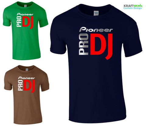 PIONEER PRO DJ T-SHIRT - CDJ / DJM / DDJ / 2000 1000 900 850 800 NEXUS CLUB TOP