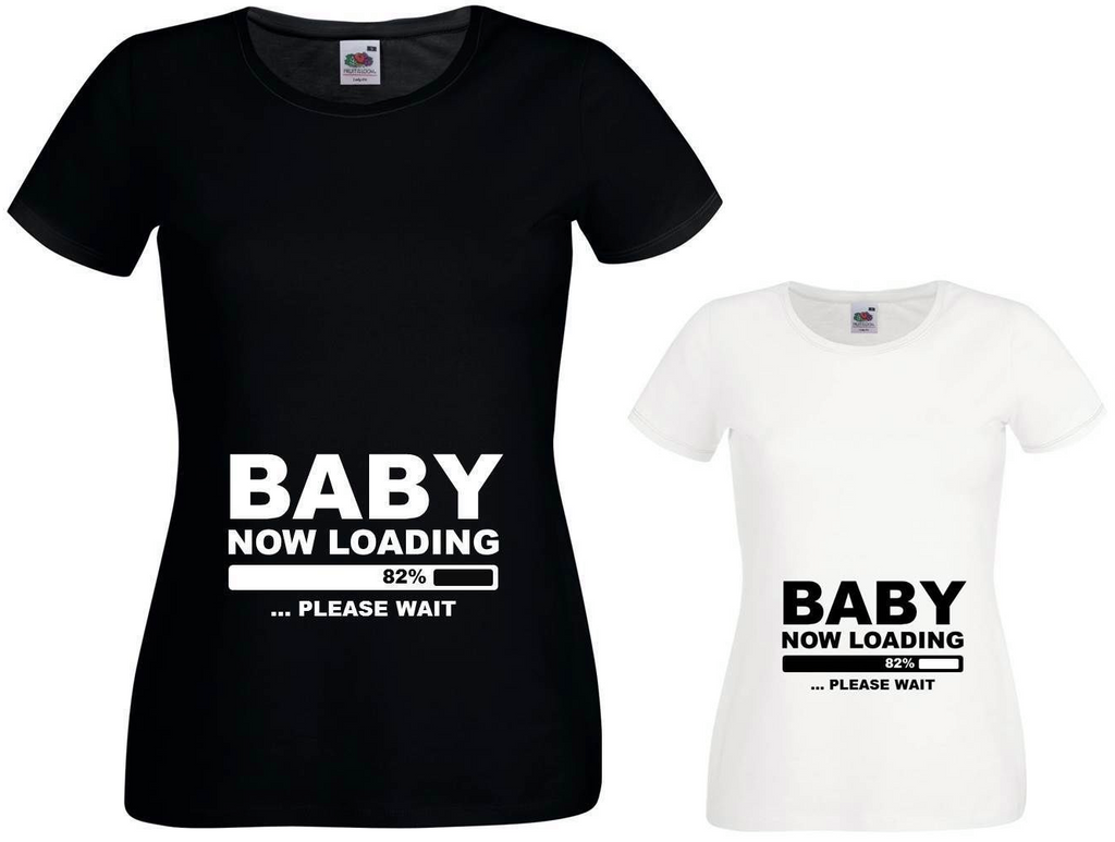 Ladies Expecting mother - Loading baby T -Shirt