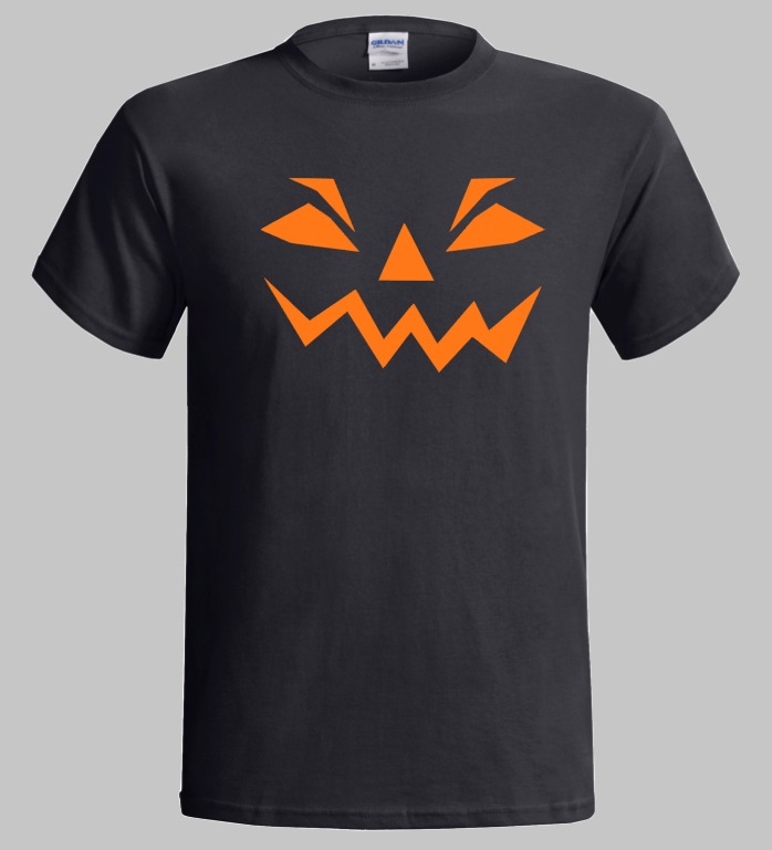 Halloween T-Shirt Happy Halloween Scary Pumpkin Design