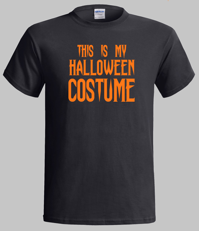 Halloween T-Shirt  - This is My Halloween Costume