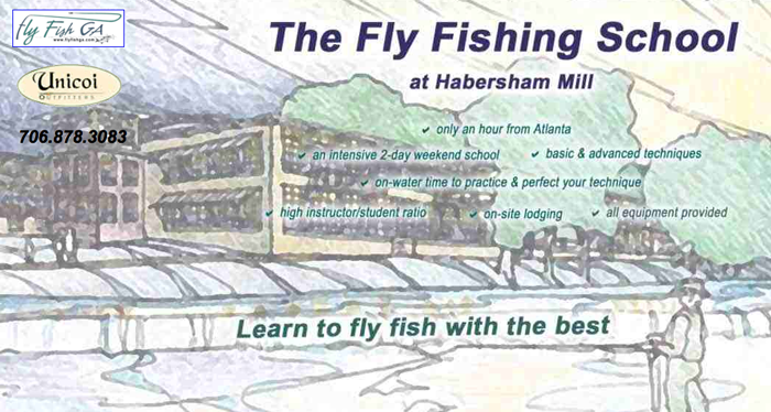 The Fly Fishing School at Habersham Mill Gift Certfiicate