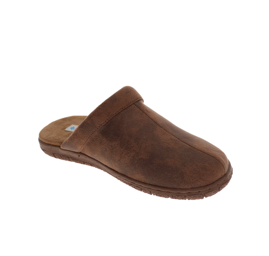Calvin Brown Slipper