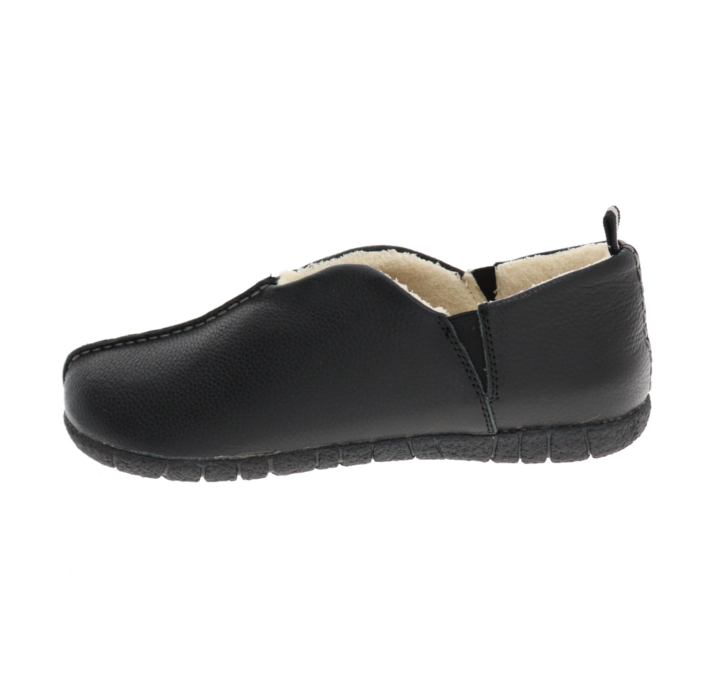Danny Black Slipper