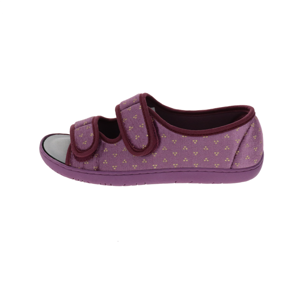 Debbien 2 Violet Slipper