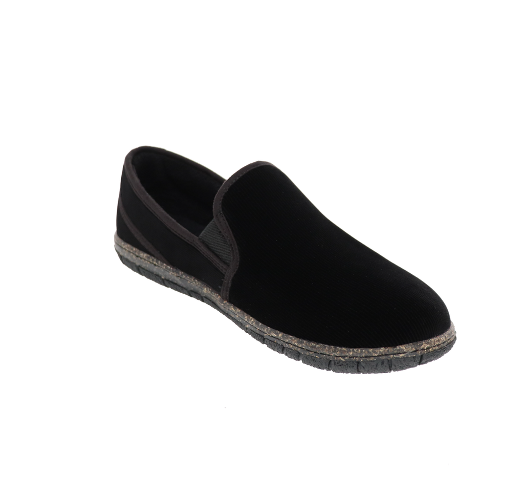 Dominic Black Slipper