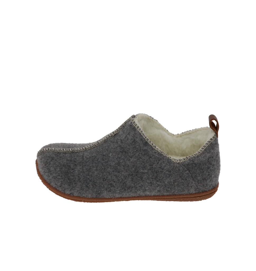 Gisele Grey Slipper