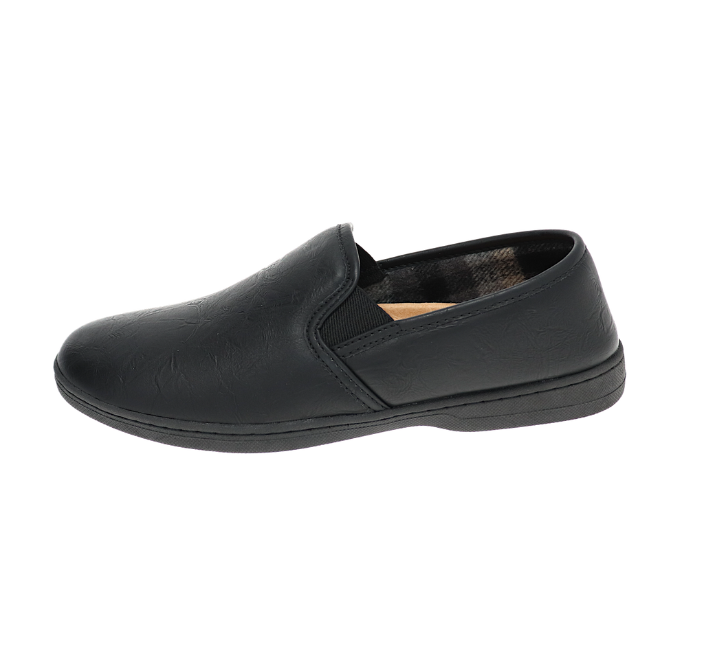 Larson Black Slipper