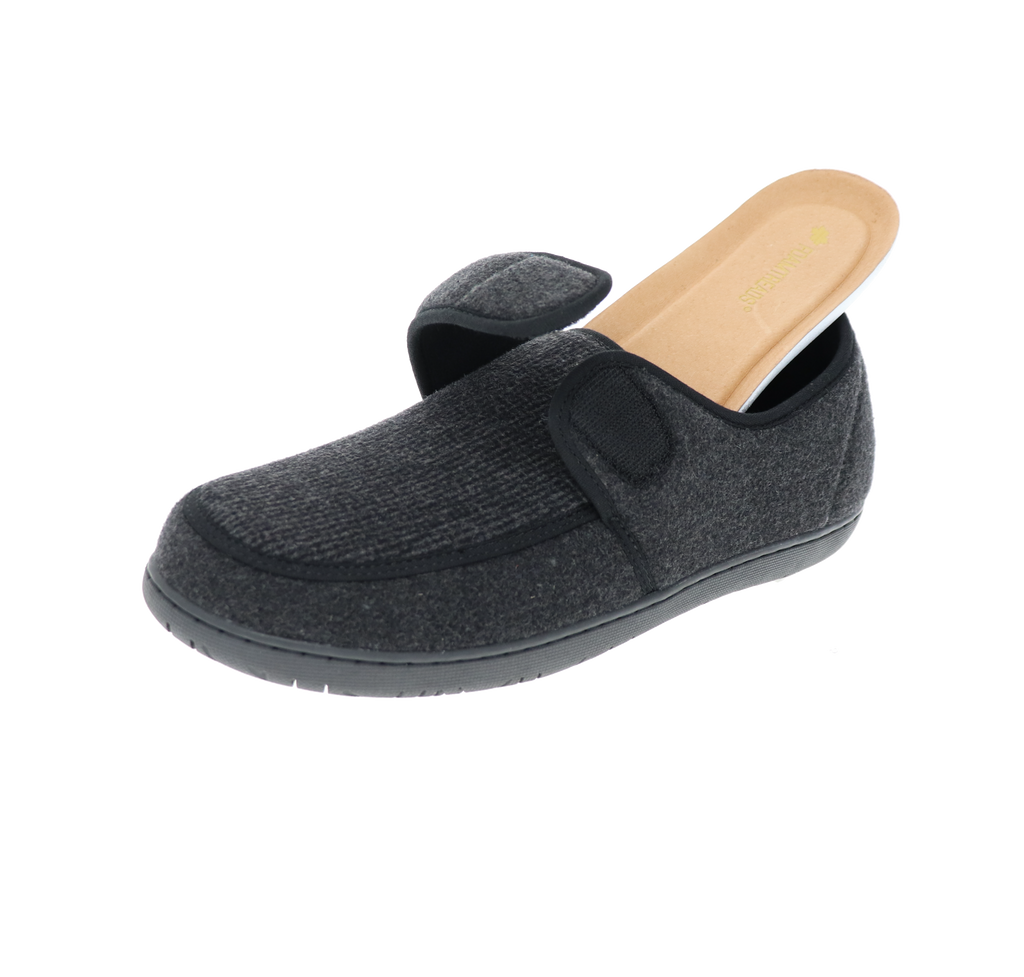 Morgan 2 Black Slipper