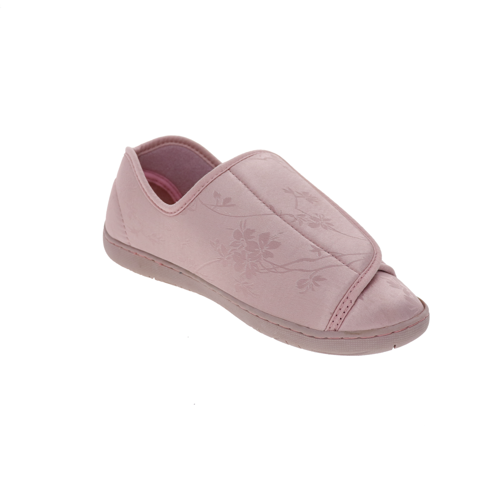 Nurse 2 Dusty Rose Satin Slipper